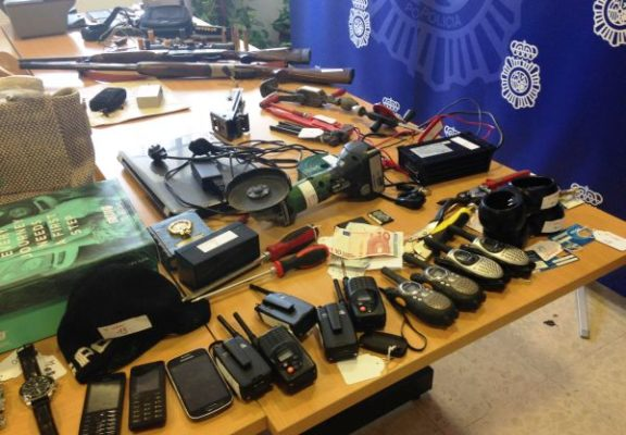 foto armas policia nacional