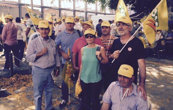 Grupo de apicultores de la provincia de Almería