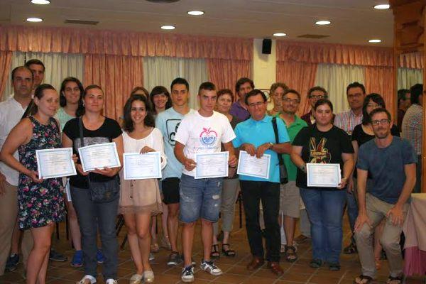 Foto de familia en la clausura del curso sobre fitoturismo en la UAL
