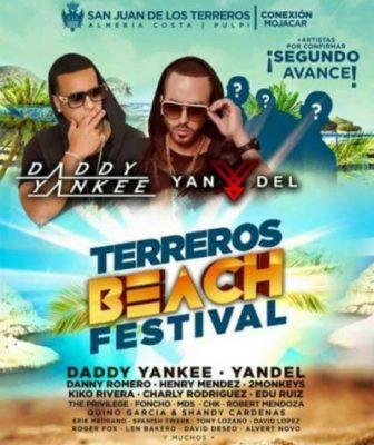 Cartel de la edición 2015 del Terreros Beach Festival