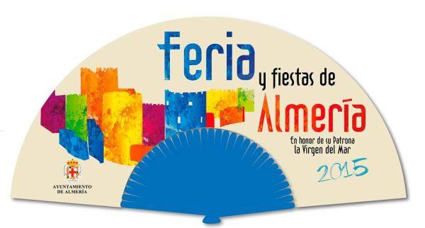 abanico oficial de la feria de almeria 2005