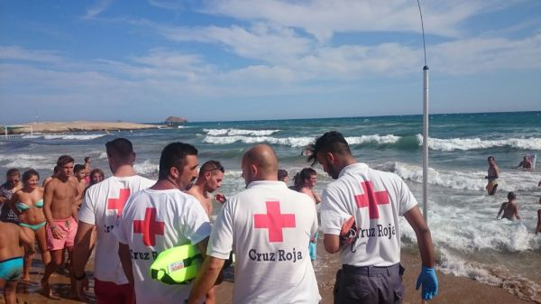 San Juan de los Terreros Rescate Cruz Roja