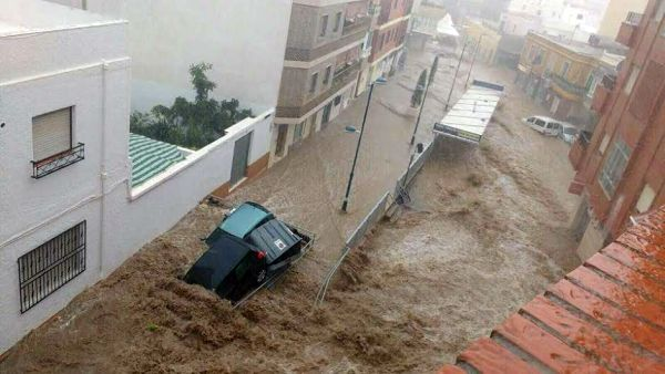 Balerma inundaciones