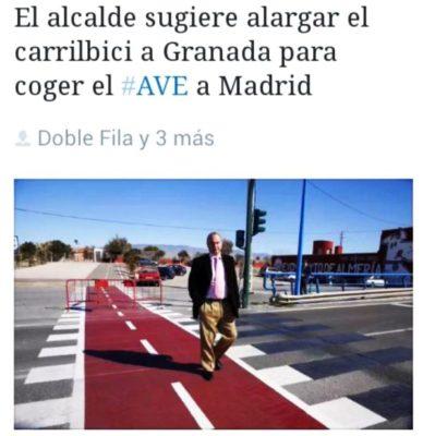 De Almería a Madrid en AVE