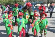 Los más pequeños de Pulpí derrochan originalidad en el arranque del carnaval