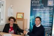 El neurólogo José Rubí y la asociación 'Vivir', aliados en el tratamiento del daño cerebral
