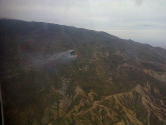Foto aérea Infoca