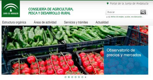 web de agricultura