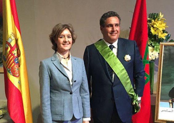 tejerina y el ministro de marruecos