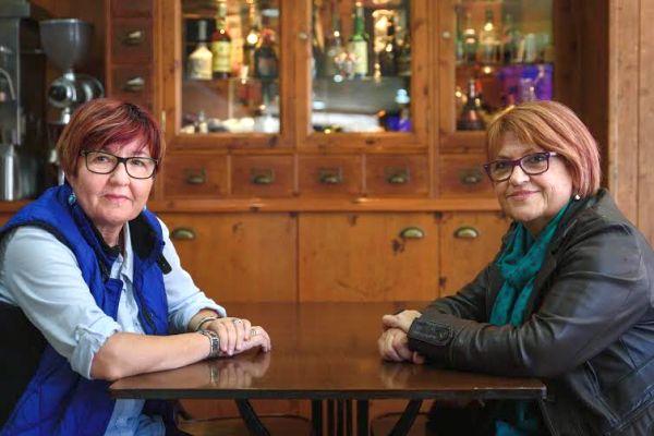 Marisa Zapata y Mª Jesús García
