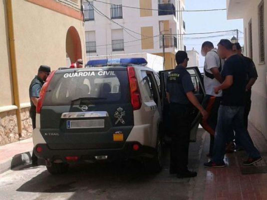Guardia Civil, Garrucha