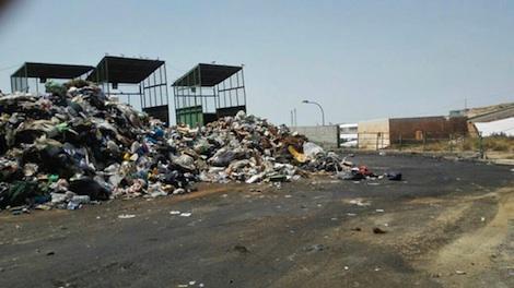 Planta de tratamiento de residuos