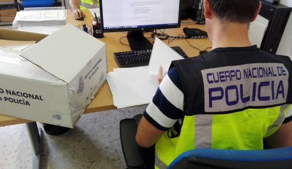 Golpe policial contra una red de falsificadores con 148 detenciones en varias provincias