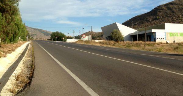 carretera Berja Dalias