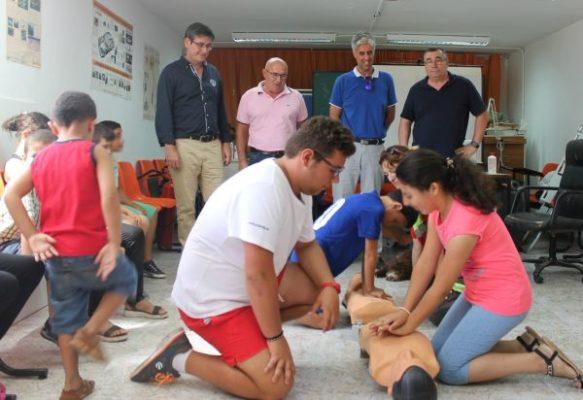 Cruz Roja a Protección Civil Adra