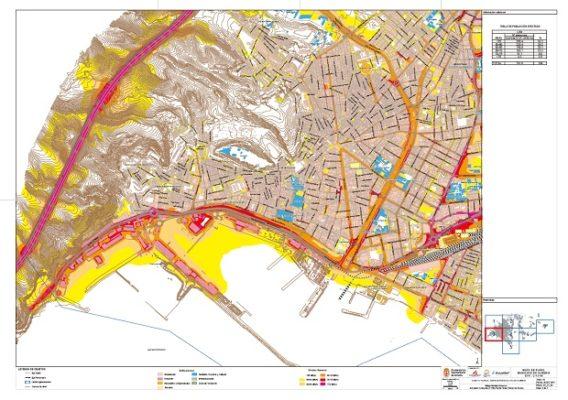 Mapa del ruido Almería