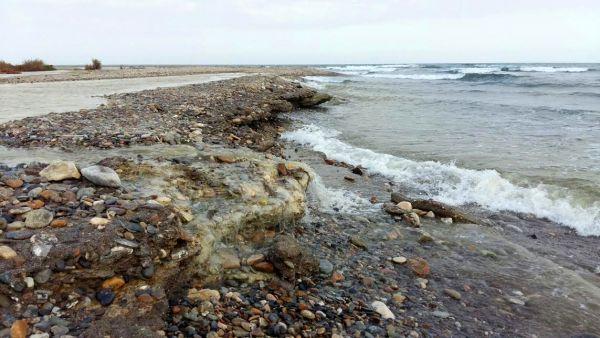 Orilla del mar Vera