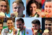 Una España dorada vuelve del Olimpo