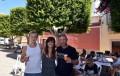 El rodaje de la serie holandesa 'Bruselas' transforma Almería en Santiago de Chile