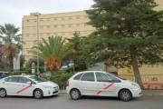 Cuatro heridos al chocar una grúa y un turismo en Viator