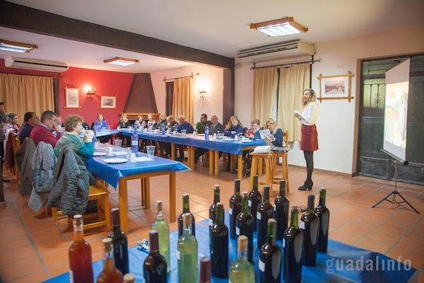 Cata de vinos Guadalinfo Tíjola