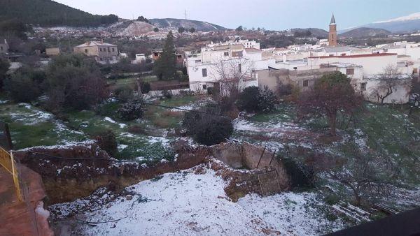 Fondon nieve