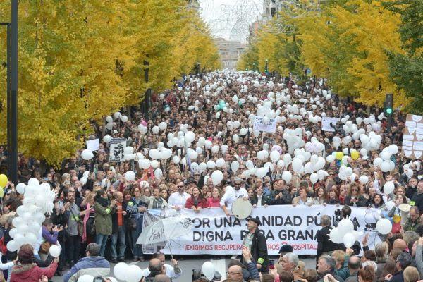 Plataforma Granada por su Salud. 27-N