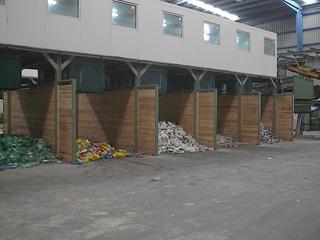 Planta de reciclaje residuos