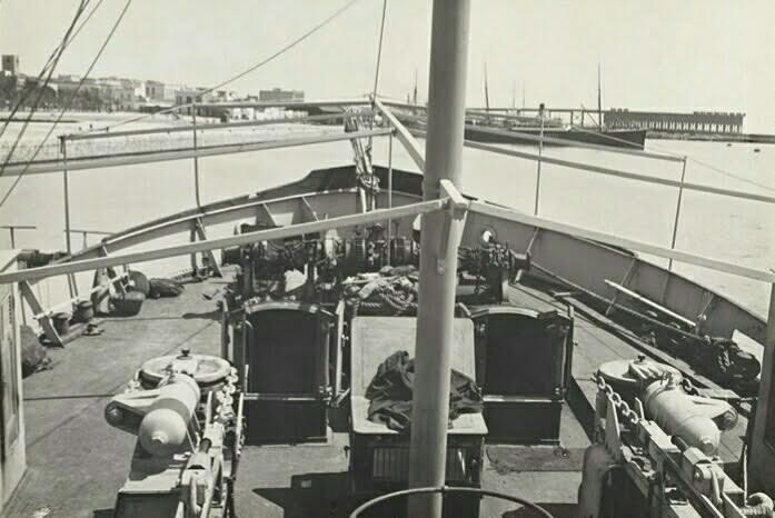 Proa de la embarcación