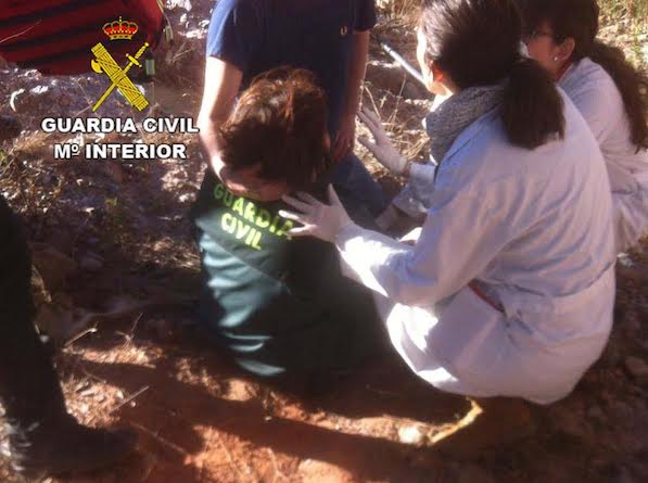 Rescate mujer
