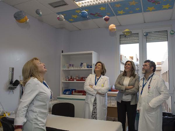 Susana Díaz Hospital de Poniente
