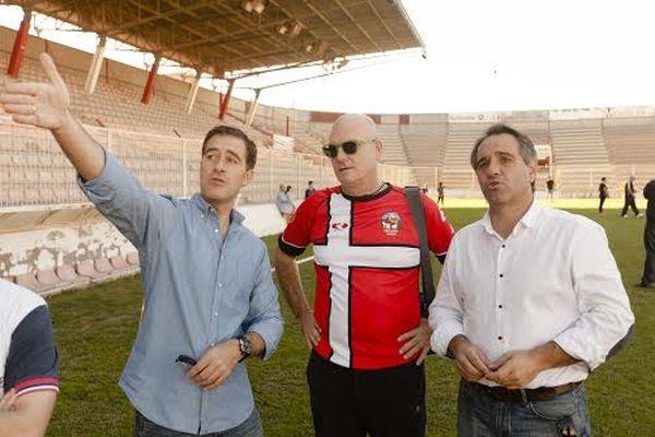 Juanjo Segura y Miguel Ángel castellón rugby