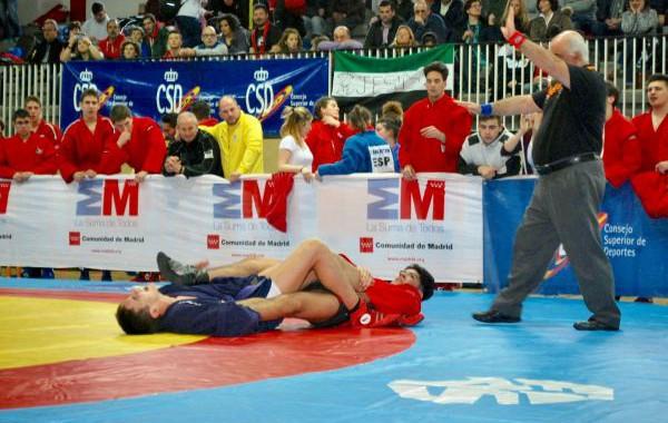Raúl Morales, campeón de España de Lucha