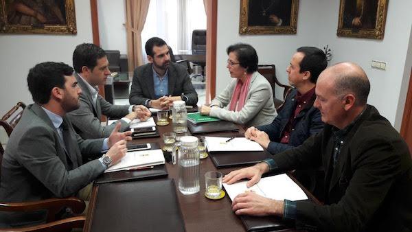 Reunión Junta Ayuntamiento Almería