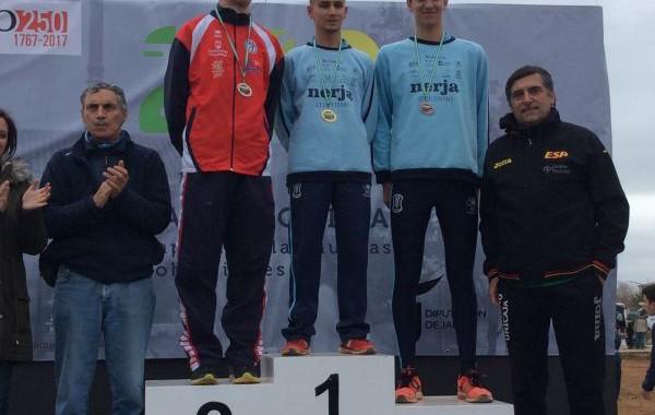 Nabil Sebbar, campeón juvenil de Andalucía de cross largo