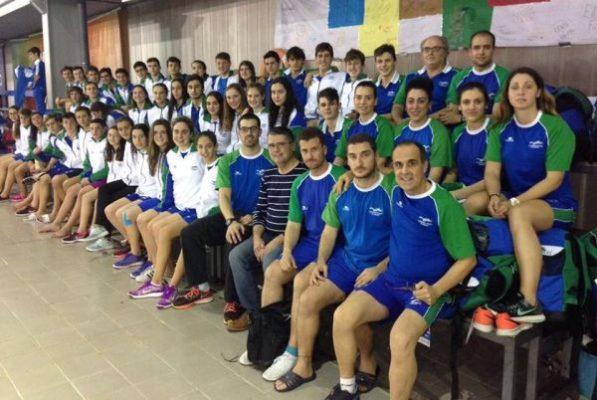 Selección andaluza de natación