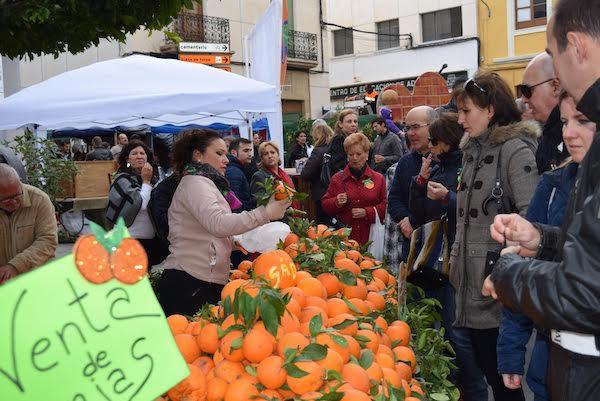 Las naranjas, protagonistas del domingo en Gádor