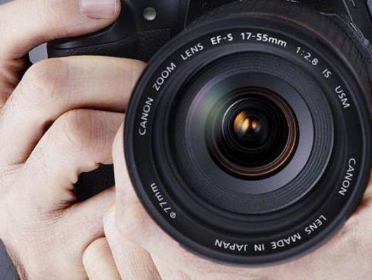 objetivo de cámara