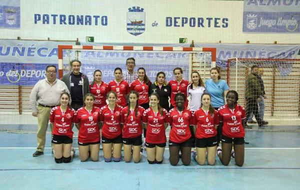 El Balonmano Roquetas juvenil femenino, campeón de Andalucía