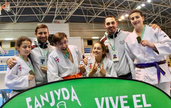 El judo almeriense brilla en Andalucía