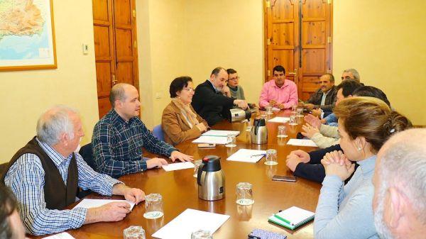 Grupo de trabajo - Mesa del Agua Delegación de Agricultura