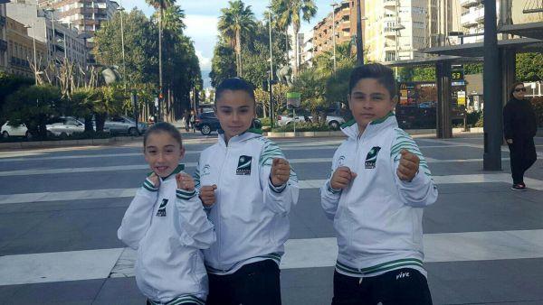 Tres almerienses, en el Campeonato de España de kárate