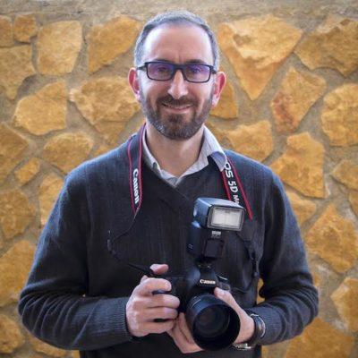 Rubén García, autor de la muestra