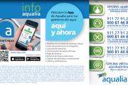 Aqualia activa un número gratuito 900 de atención al cliente
