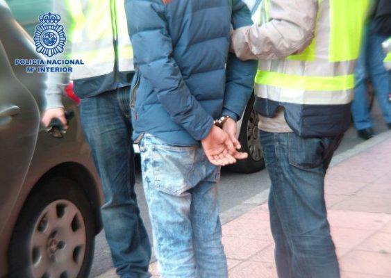 Policia Nacional, detenido