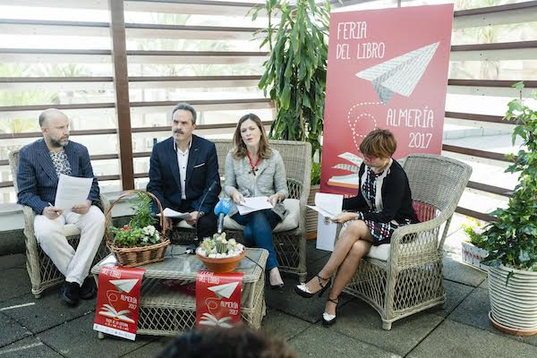 Presentación de la Feria del Libro de Almería 2017