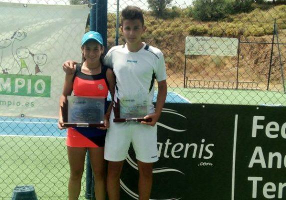 Silvia Vargas y Sergio Capel. Tenis