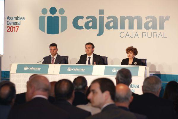 Asamblea general de Cajamar Caja Rural 2017