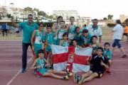 El Cajamar Ciudad de Almería, subcampeón infantil de atletismo de Andalucía
