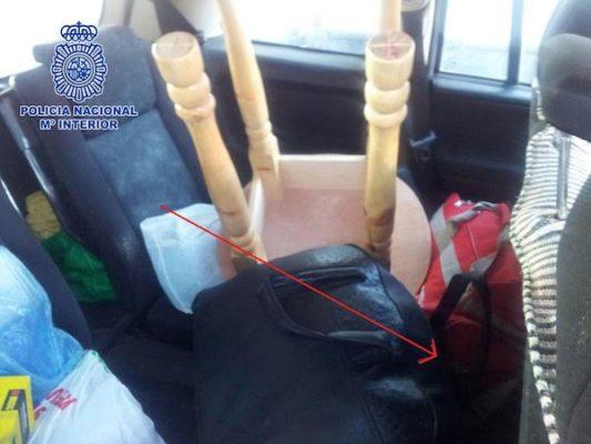 Los ciudadanos marroquíes viajaban ocultos bajo el equipaje